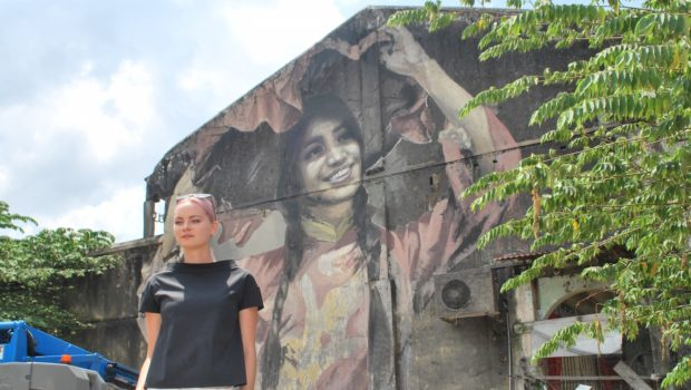 Julia Volchkova – Painting Balik Pulau