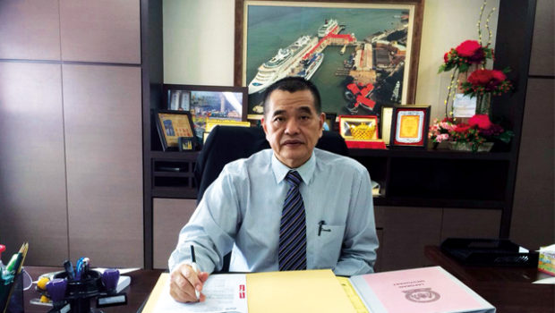Steering Penang Port Commission on an even keel