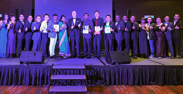 G Hotel bags awards