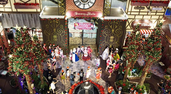 A magical Christmas at Sunway Malls