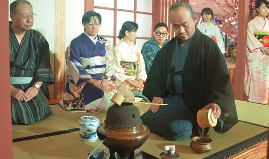 Japanese tea ceremony an elaborate affair