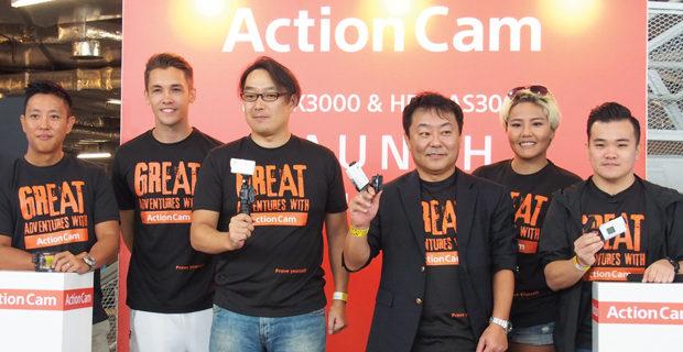 Adventurous activities with Sony Action Cam