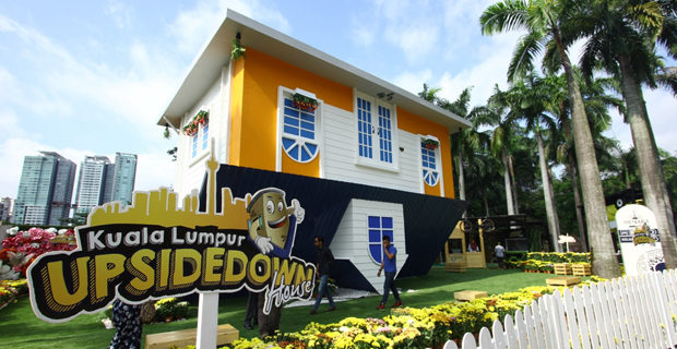 Upside Down House KL
