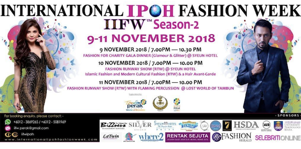 Local girl Amy to make appearance at Ipoh fashion gala