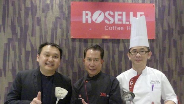 Popular chef Martin Yan in Penang