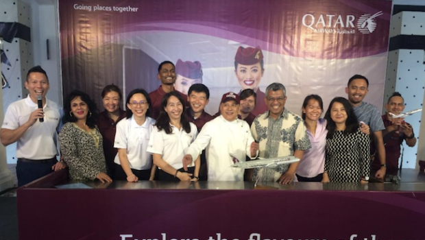 Journalists cook up new flavours at Qatar Airways food fest